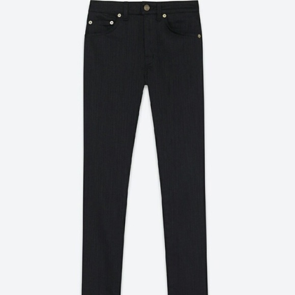 6bdf154676 Saint Laurent size 26 black skinny jeans