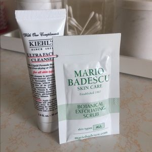 Other - Kiehls and Mario badescu travel cleanser kit