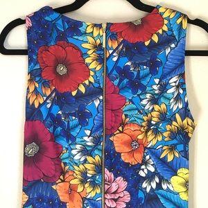 Modcloth Dresses - Closet London Blue Floral Dress