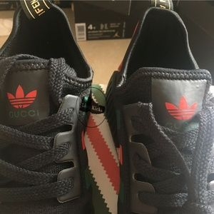 49e1189a7c5f11 Adidas Shoes - Adidas NMD R1 Boost Gucci Custom Running Sneakers