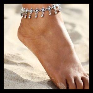Jewelry - Silver Boho Ankle Bracelet