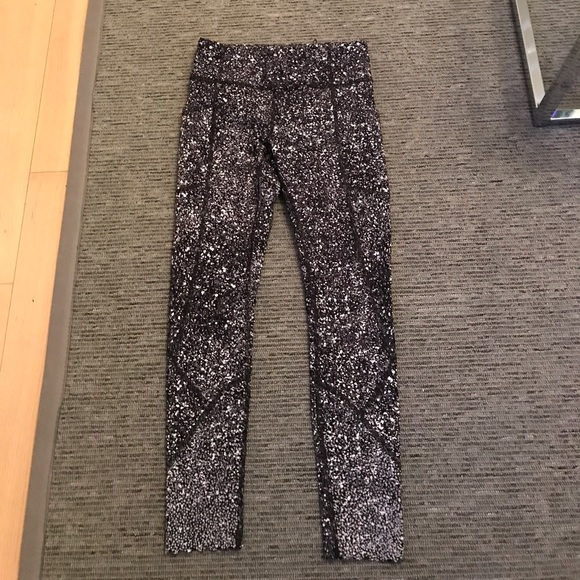 91beb787fdec34 lululemon athletica Pants | Lululemon Paint Splatter Print Legging ...