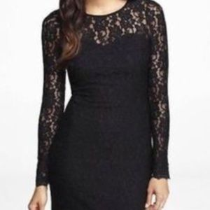 Black lace little dress