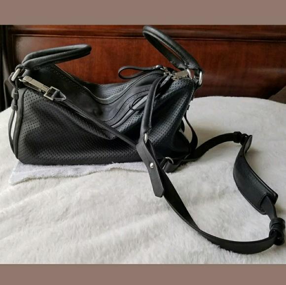 9e36dea6e5 ZARA BASIC slouchy Large cross body handbag black