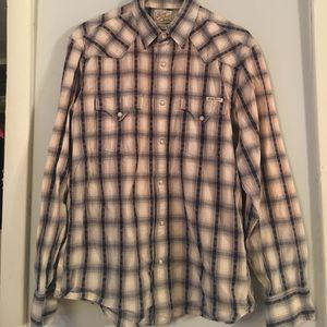 Lucky Brand long sleeve button down