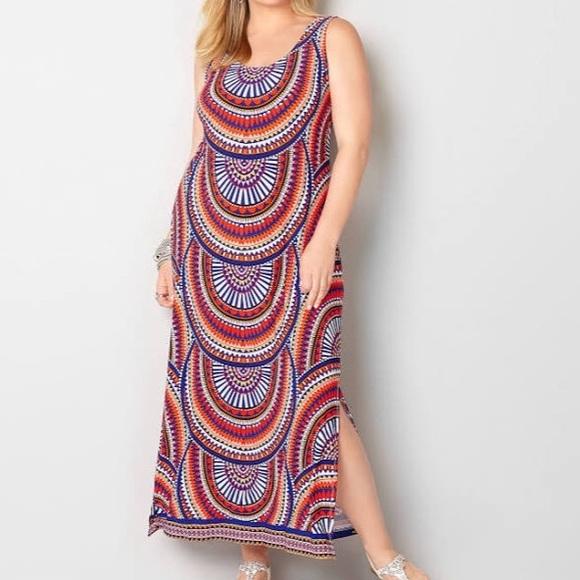 Avenue plus size maxi dress size 26/28