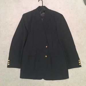 Other - Men's Size 42R Navy Blazer With Gold Buttons