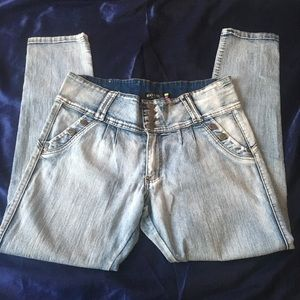 Denim - High waisted jeans size 18