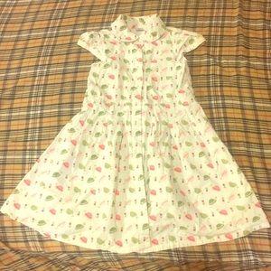 GYMBOREE SZ 6 button down collared dress