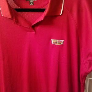 Adidas Shirts Cadillac Logo Polo Shirt Poshmark