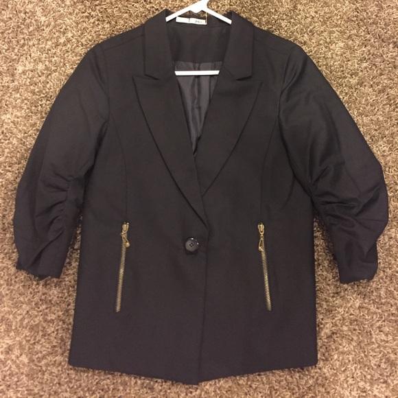 Jackets & Blazers - Classic Black Blazer Size S