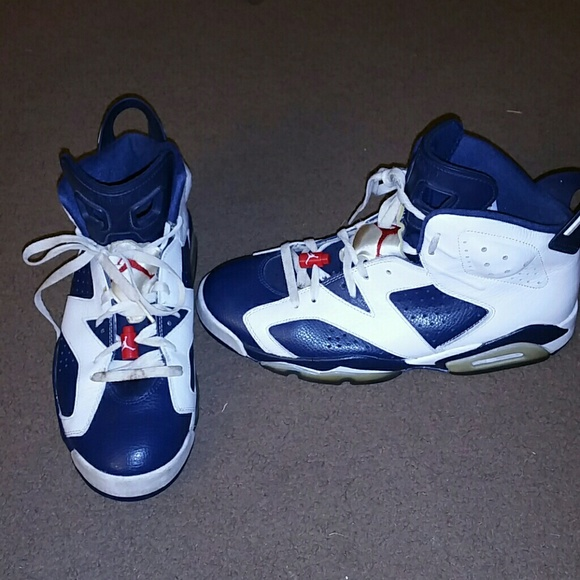 87d9fea7158f Air Jordan Other - Air Jordan 6 Retro Olympic size 11 basketball shoe