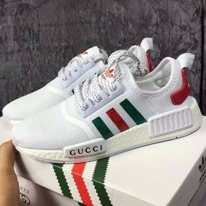 fca037ea8 Adidas NMD X Gucci White Color Men customs