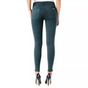 Hudson jeans: Nico Super Skinny Coated Jeans