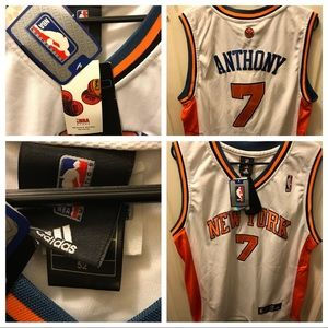 NYK Carmelo Anthony #7 Authentic Jersey