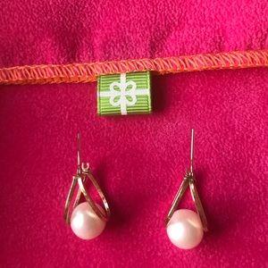 Jewelry - 14K gold and pearl pierced earrings