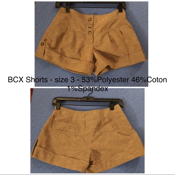 BCX Pants - BCX Shorts.  Size 3.