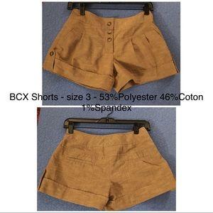 BCX Shorts - BCX Shorts.  Size 3.
