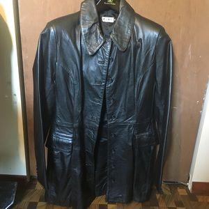 Jackets & Blazers - *Vintage* 100% Genuine Leather Jacket