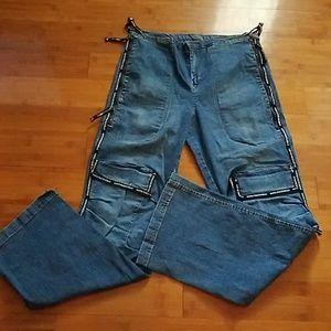 Marithe Francois Girbaud Blue Jeans