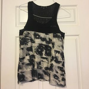 Tops - Animal Print Tank Top
