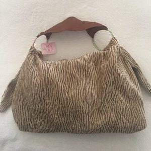 Handbags - Soft handbag with leather strap