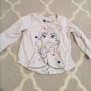 Baby gap Frozen Anna long sleeve shirt sz 18-24m