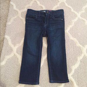 NWOT Baby gap denim mini skinny jeans sz 18-24m