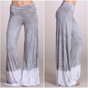 Tie Dye Wide Leg Lounge Pants