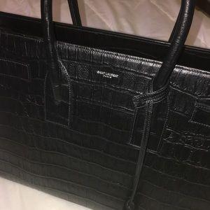 d1835ff98ff Yves Saint Laurent Bags - 🖤🐊HP🐊🖤 YSL LRG Sac De Jour Carry