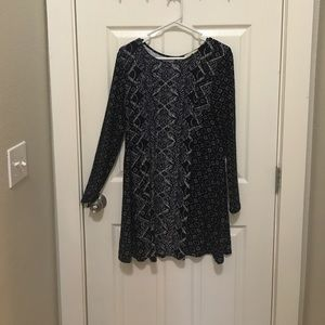 Dresses & Skirts - Blue-patterned dress
