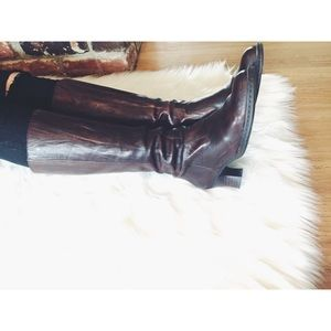 Born Leather Victorian Equestrian Riding Boots 7