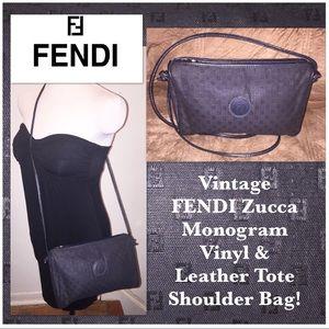 346a70c5f812 ... aliexpress fendi bags vtg fendi monogram vinyl leather cross body bag  59706 4efe7 ...