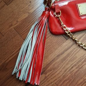 Guia's Bags - Guia's 1964 red leather bag.