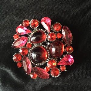 Jewelry - Red/Pink Brooch