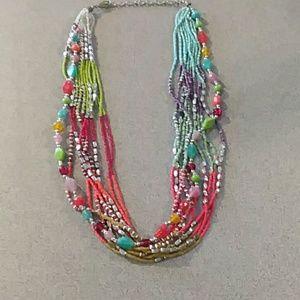 Jewelry - Bohemian headed necklace