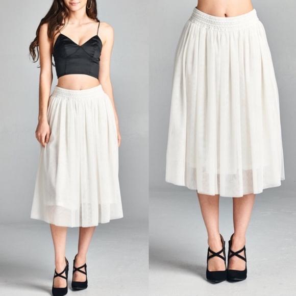 Bellanblue Skirts - CINDY Tulle skirt  - BLACK
