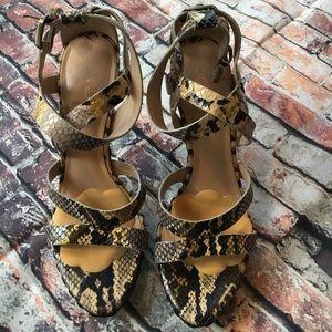Via Spiga Platform Sandals