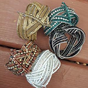 Jewelry - Your choice of colorful boho tribal bracelet