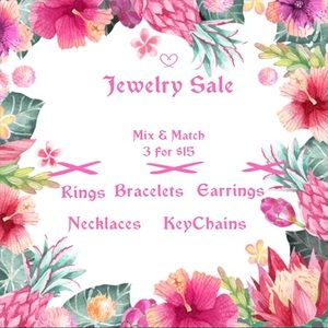 Jewelry - August Jewelry Sale - Mix & Match 3 for $15