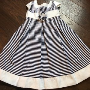 Other - Blue and white striped dress