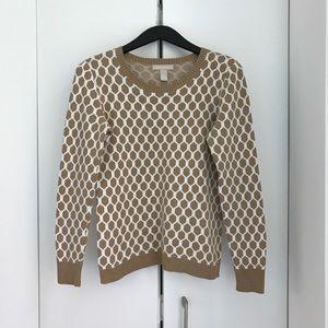 "Banana Republic Cotton ""Honeycomb"" Sweater"
