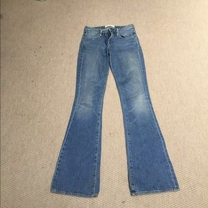 Paper denim and cloth jeans
