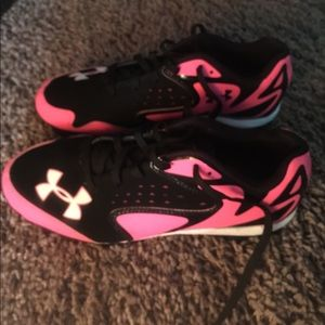 Under Armour softball cleats
