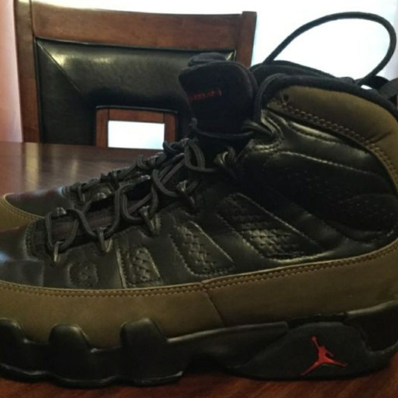 sports shoes 111e0 41331 Vintage 1994 Nike Air Jordan IX 9 Olive OG DS