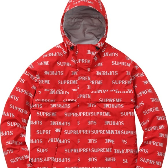 supreme jackets coats 3m reflective repeat taped seam jacket