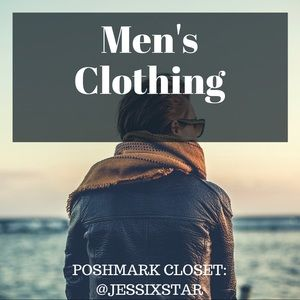 MEN'S CLOTHING! 👨🏼🕶👔👖👕