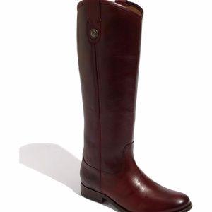Frye Melissa Button Boot - Burgandy