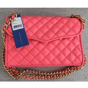 NWT Rebecca minkoff quilted mini affair bag purse
