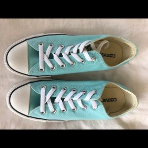 a11e14c0ab174a Converse Shoes - Poolside (teal) low top converse - women s 8.5